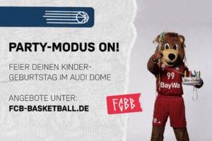 Berni der Bär Fc Bayern Basketball