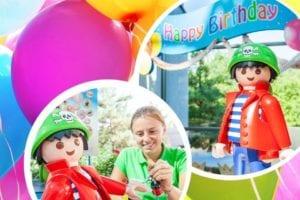 Kindergeburtstag im Playmobil Funpark